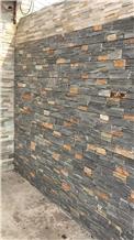 Cyan Loose Stone Wall Brick Stone Cement