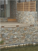 Multicolor Loose Stone Wall Stone Boulder Strip