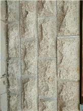 Rust Stone Exterior Wall Mushroom Stone