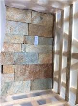 Rusty Free Loose Stone Interior Wall Panel