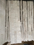 Split Culture Stone White Quartzite Wall Stone