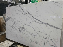 Polished Italy Calacatta White Marble Slabs&Tiles