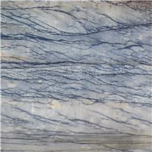 Blue Fantasy Ocean Blue Quartzite Polished Slabs