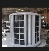 Mausoleum Columbarium Granite Family Crypts