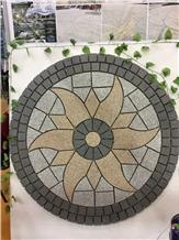 Mesh Cube Stone Pavers Granite Exterior Pattern