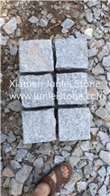 G603 White Cube Stone, Natural Small Square Pavers