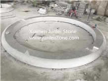 Shandong White Landscape Stone Chair