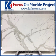 Calacatta White Gold Marble Slabs