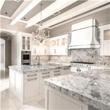 Customized Carrara White Marble Countertop