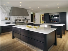 Modern Calacatta White Marble Countertop