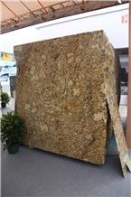Phantom Golden Flower Granite Blocks
