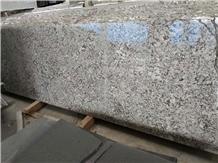 Snow White Flower Granite Slabs, Tiles