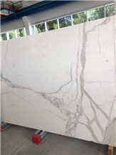 Statuario Carrara Marble Polished Slabs