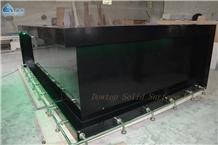 Black Bar Counter Artificial Stone Countertop