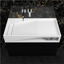 Corian Solid Surface Bathroom Basin