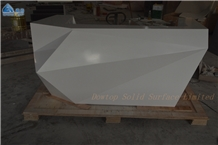 Customized Artificial Stone Reception Desk
