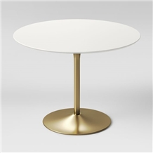 High Quality Quartz Top White Dining Table Designs