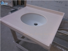 Modern Corian Bathroom Vanity Top