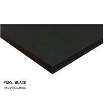Pure Black Quartz Bar Top