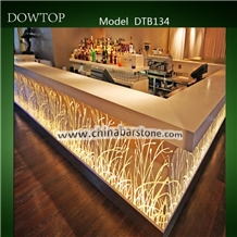 Solid Surface Restaurant Bar Countertop