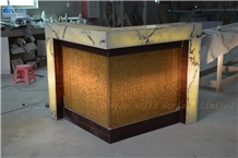 Solid Surface Translucent Club Bar Counter