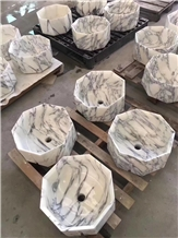 Factory Supply Marble Stone Bathroom Sink