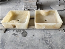 Luxury Onyx Wash Basin Stone Bathroom Sink