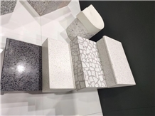 Polished Cement Terrazzo Tiles and Slabs
