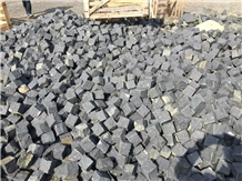 Absolue Black Basalt G684 10x10x10cm Split Cubes