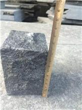 Black Basalt G684 Split Cobble Stones Cubes Setts