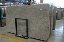 China Coast Ocean Blue Limestone Slabs Floor Tiles