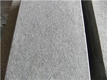 China Pearl Black Basalt G684 Bush Hammered Tiles
