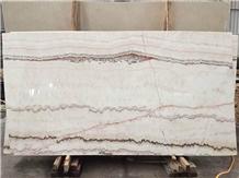 China Rainbow White Onyx Slabs Tiles