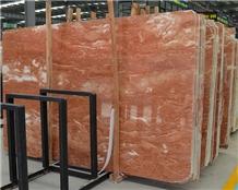 Philippines Tea Rosa Orange Peel Red Marble Slabs
