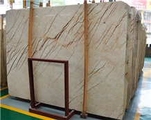 Turkey Luna Pearl Sofita Gold Marble Slabs Tiles