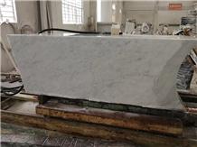 Bianco Carrara White Marble Building Stone Column
