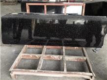 Black Galaxy Granite Half Slab Tiles