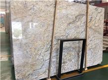 China Golden Crystal Granite Slab