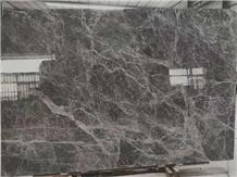 China Grey Emperador Marble Slab