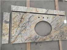 Golden Crystal Granite Countertop