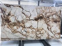 Roman Impression Marble Slab
