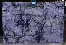 Cristallo Blue Quartzite/ Blue Crystal Quartzite Slabs