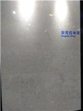 Angola Grey Limestone Slabs, Tiles