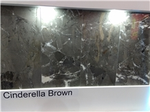 Cinderella Brown Marble Tiles, Slabs