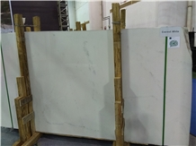 Everest White Marble Tiles, Slabs