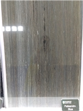 Palisandro Blue Marble Slabs, Tiles