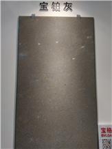 Platinum Gray Limestone Slabs, Tiles