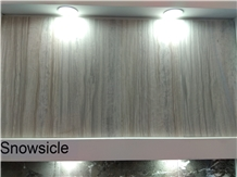 Snowsicle Marble Slabs, Tiles, Cut to Size