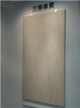 Agarwood Beige Marble Slabs, Tiles