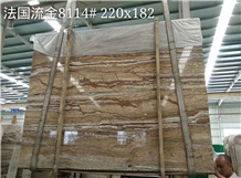 French Golden Travertine for Wall Tile